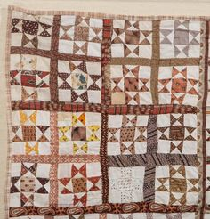 "Lot: AMERICAN ""STAR OF HOPE"" PIECED CRIB QUILT, Lot Number: 0259, Starting Bid: $100, Auctioneer: Jeffrey S. Evans & Associates, Auction: Americana & Fine Antiques , Date: June 21st, 2014 AEST"