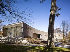 Arcus Center for Social Justice Leadership, Kalamazoo, MI, USA / Studio Gang Architecs © Steve Hall for Hedrich Blessing