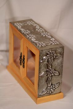 Handmade Mexican Repujado Art - Jewelry Box