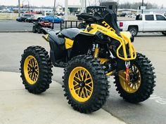 Four Wheelers For Sale, Atv Four Wheelers, Youth Atv, Bad To The Bone, Go Kart, Lifted Trucks, Razor 1000, Yamaha, Cool Cars