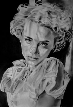 Grease   Art Michele   technique: Fabriano paper size 33x48   pencils faber castell B-12B   about hours running 55
