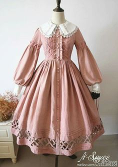 Kawaii dress - Cheap Plus Size Formal Dresses For Weddings Short Evening Dresses Formal Wear White Lace Bridesmaid Dress – Kawaii dress Old Fashion Dresses, Old Dresses, Pretty Dresses, Beautiful Dresses, Fashion Outfits, Pink Vintage Dresses, Sexy Dresses, 1800s Dresses, Summer Dresses
