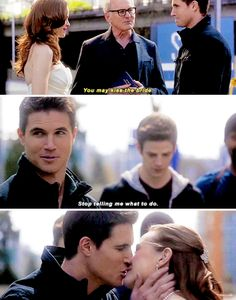 """Stop telling me what to do"" - Ronnie and Caitlin's wedding #TheFlash"