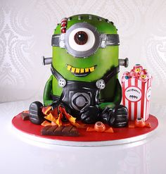 Minion Halloween Cake | Colin MacGregor | Flickr