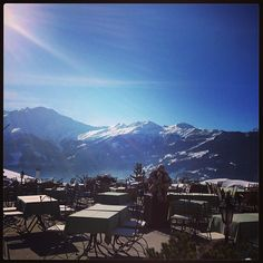Photo by @smallching My favorite place to hv lunch. #verbier