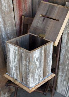 Diy Wooden Card Box For Wedding