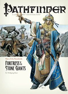 """Pathfinder #4—Rise of the Runelords Chapter 4: """"Fortress of the Stone Giants"""" (OGL) 