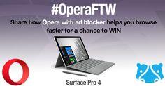 FileHippo - Win a Surface Pro 4 with Opera - http://sweepstakesden.com/filehippo-win-a-surface-pro-4-with-opera/