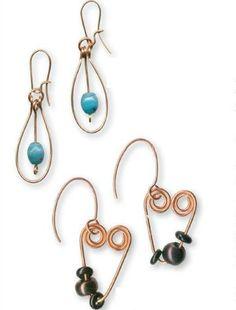 Copper Jewelry - Basic Earring Loop