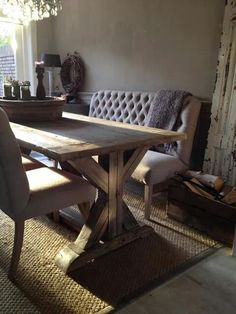 .Antique & modern dining
