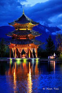 Dragon Snow Mountain Yunnan CHINA