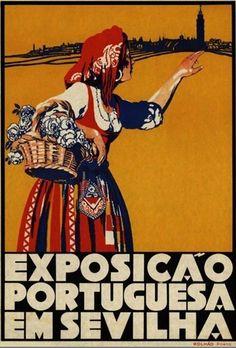 Portuguese exhibition in Seville, 1929.