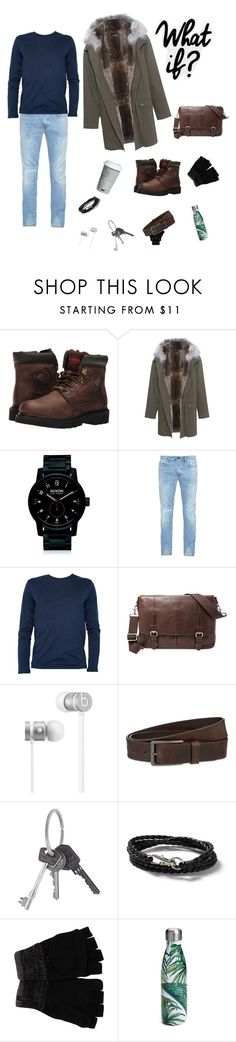 """"""":"""" by netvett ❤ liked on Polyvore featuring Harley-Davidson, Yves Salomon, Nixon, Yves Saint Laurent, Armani Jeans, FOSSIL, Beats by Dr. Dre, HUGO, Givenchy and Topman"""