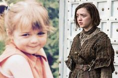 Photos d'enfance d'acteurs de Game of Thrones