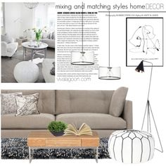 mixing and matching styles home decor