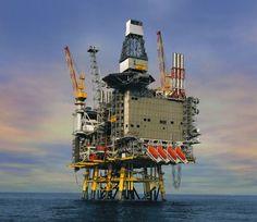 Britannia Oil Rig  #Britannia #OilRig #Mainpac