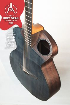 Exhibitor at The Holy Grail Guitar Show 2016: Claudio Pagelli, Claudia Pagelli, Switzerland www.pagelli.com https://www.facebook.com/pagelliguitars?fref=ts