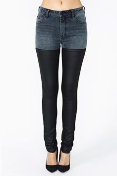 Dead Or Alive Skinny Jeans by #RESDenim