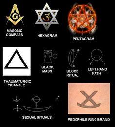 illuminati symbols | Illuminati Pedophile Ring: Symbolism Numerology