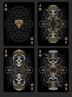 Bicycle Steampunk Bandits Playing Cards Deck by Gambler's Warehouse — Kickstarter
