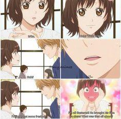 Ookami Shoujo To Kuro Ouji | Kyouya's second attempt at saying I love you