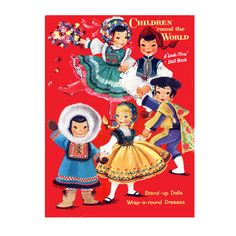Children Around the World Paper Dolls - PDF