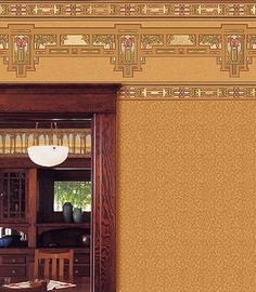 Craftsman Style Interior Design Wallpapers   Sienna   Bradbury & Bradbury