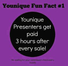 Did you know???!!! Join my team now. https://www.youniqueproducts.com/products/landing?psid=480417