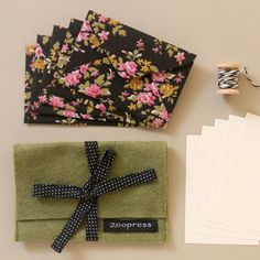 envelopes de tecido