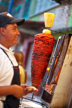 Tacos al pastor at Tacos el Ivan in Sayulita, Mexico