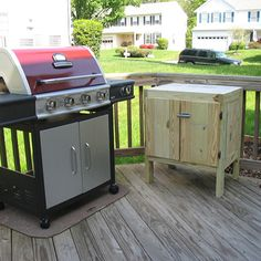 Grill Side Table Grilling Sides Kreg Tools Tool Company Wood Projects