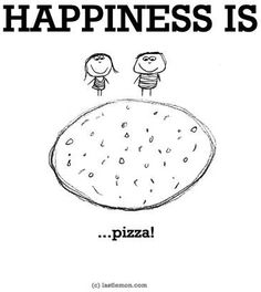 You love pizza and BakerStone loves you. Cute Pizza, I Love Pizza, Happiness Project, Joy And Happiness, Happiness Quotes, Pizza Life, Pizza Pizza, Pizza Art, Cute Happy Quotes