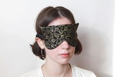 Sleep Mask, Black Gold, Beauty, Beleza, Cosmetology
