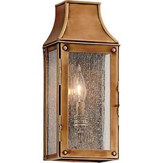 "Beacon Hill 13"" High Heirloom Brass Outdoor Wall Light - #8C557 