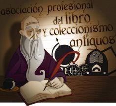 Ilustración Asociación profesional del libro y coleccionismo Pantuás Diseño Gráfico