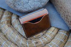 Portatarjetas de cuero personalizado cuero tarjeta titular de