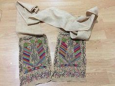 ottoman embroidery sash rare motif