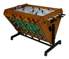 Leisure sports games table games on pinterest hockey for Table header rotate th rotate 45