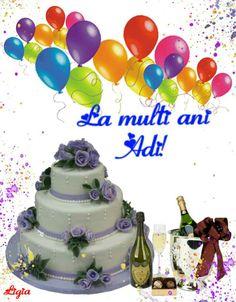 Birthday Cake, Happy, Desserts, Christmas Deco, Tailgate Desserts, Deserts, Birthday Cakes, Ser Feliz, Postres