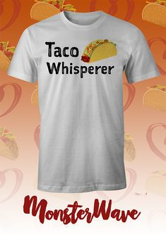 Do tacos talk to you? Do you hear them calling you to eat them? Can you find every taco stand or truck without directions? Taco Love, Lets Taco Bout It, Vinyl Shirts, Funny Shirts, Taco Ideas, Taco Stand, Taco Humor, Tacos And Tequila, Taco Shirt