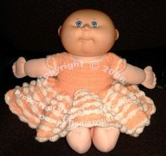 MamaHooks Pattern Page: Cabbage Patch Party Dress 12