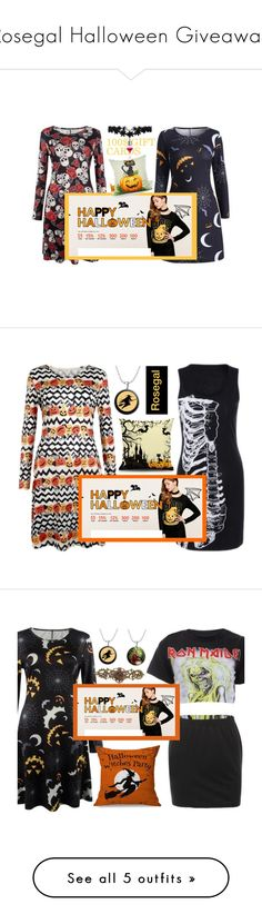 """""""Rosegal Halloween Giveaway"""" by mihreta-m ❤ liked on Polyvore featuring Halloween and giveaway"""