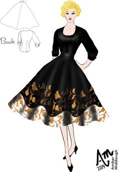 1950s Skirt and Blouse by Amber Middaugh (currently in voting - click the link and vote YES to give it a shot at production)