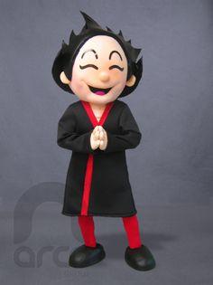 Botarga de Chinito para Hijos del Shushi ¡Conoce más botargas de figuras humanas aquí! http://www.grupoarco.com.mx/venta-de-botargas/botargas-de-figuras-humanas-en-mexico/