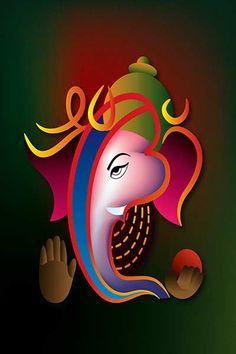 collection of Lord ganesha images with quotes in hindi . beautiful ganesh stuti quotes and amazing ganpati sanskrit sloka. Ganesha Drawing, Lord Ganesha Paintings, Lord Shiva Painting, Ganesha Art, Shri Ganesh Images, Ganesha Pictures, Jai Ganesh, Shree Ganesh, Ganesh Lord
