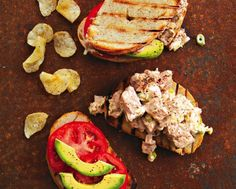 Gojee - Grilled Tuna Sandwiches Recipe by Food Republic