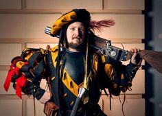 Warhammer Empire Landsknecht costume by @borslarp
