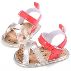 Cheap girls sandals, Buy Quality baby girl sandals directly from China sandal girls shoes Suppliers: Baby Girls Sandals Soft Sole PU Leather Shoes Slip-on Prewalker Bebe Party Baby Shoes Baby Girl Sandals, Kids Sandals, Baby Girl Shoes, Girls Shoes, Beach Sandals, Newborn Shoes, Walker Shoes, First Walkers, Jelly Shoes