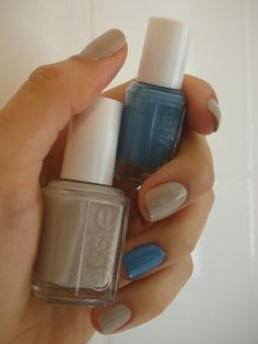 Summer inspiration - the French seaside: Essie's Coat Azure & Sand Tropez!