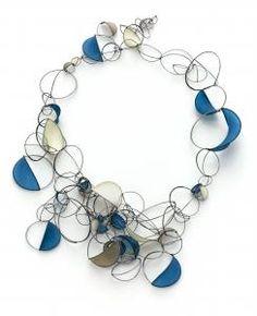 Tia Kramer's paper jewelry. Available @ Bellevue Art Museum's store